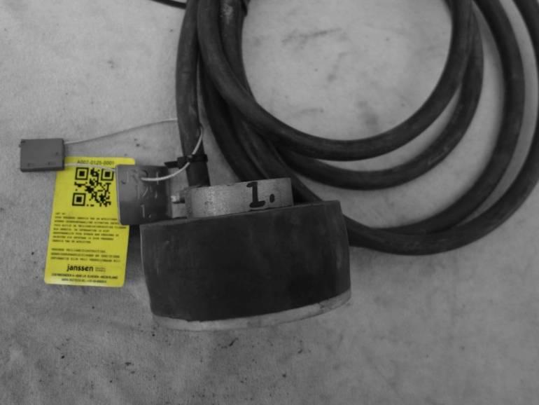 Plaatafsluiter metaal 125 mm