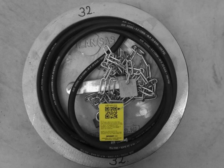 Plaatafsluiter metaal 400 mm
