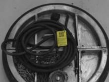 Plaatafsluiter metaal 600 mm