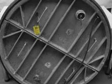 Plaatafsluiter metaal 1200 mm