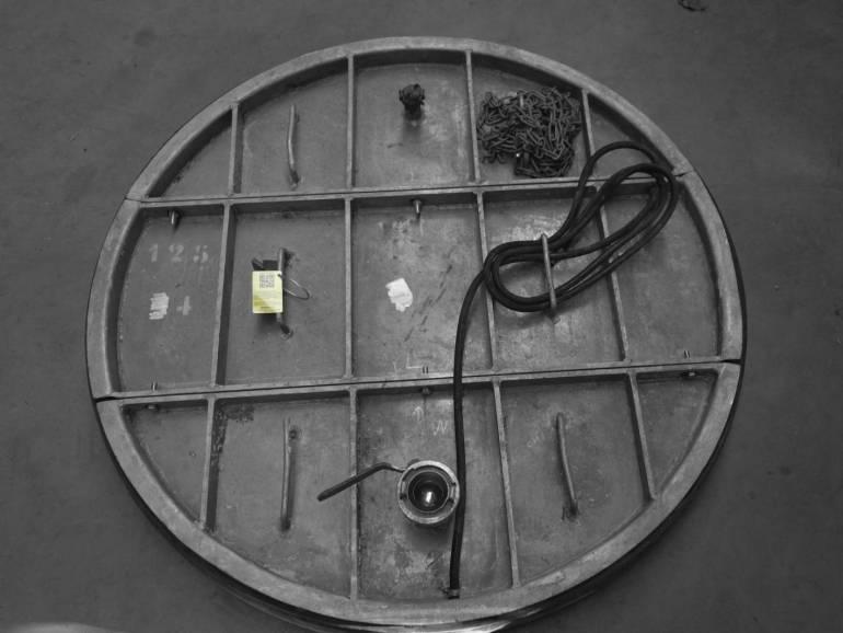 Plaatafsluiter metaal 1250 mm