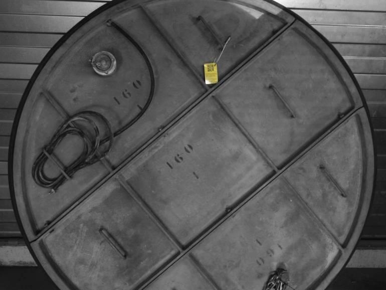 Plaatafsluiter metaal 1600 mm